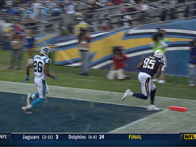 Video - San Diego Chargers TE Antonio Gates 9-yard TD catch