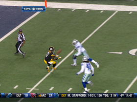 Video - Pittsburgh Steelers QB Ben Roethlisberger 60-yard pass to Wallace
