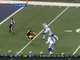 Watch: Roethlisberger 60-yard pass to Wallace