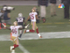 Watch: Crabtree 38-yard TD catch