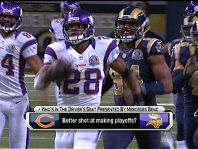 Video - Better chance of making playoffs: Minnesota Vikings or Chicago Bears?
