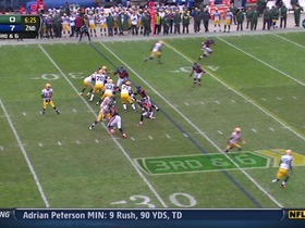 QB Rodgers to WR Cobb, 31-yd, pass