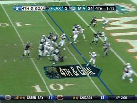 Dolphins defense, 4th down failed