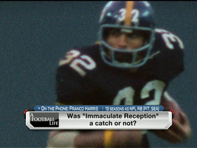Video - Franco Harris reflects on 'Immaculate Reception'