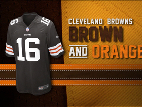 Watch: Evolution of the Browns colors