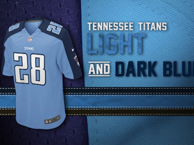 Watch: Evolution of the Titans colors