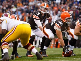 Video - 'Sound FX': Cleveland Browns QB Brandon Weeden