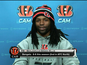 Video - Cincinnati Bengals running back BenJarvus Green-Ellis: 'They like it, I like it'