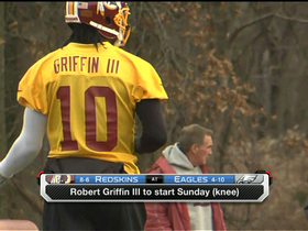 Video - Breer: Washington Redskins quarterback Robert Griffin III likely to start vs. Philadelphia Eagles
