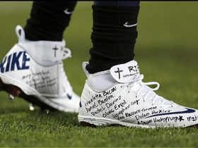 Video - Tennessee Titans running back Chris Johnson to auction off cleats
