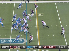QB Stafford to WR Johnson, 49-yd, pass