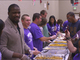 Watch: Ravens' McClain feeding families in need