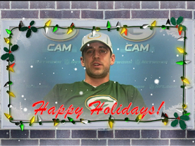 NFL players wish you a Happy Holidays!