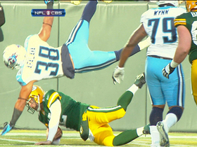 Video - Green Bay Packers quarterback Aaron Rodgers 6-yard TD run