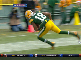 Video - Green Bay Packers quarterback Aaron Rodgers connects with wide receiver Randall Cobb for 20-yard TD
