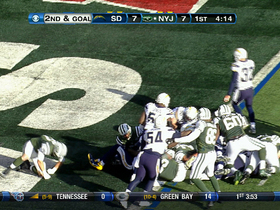 Video - New York Jets RB Shonn Greene 2nd rush TD