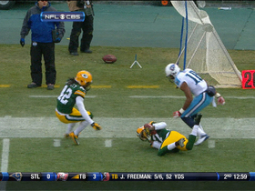 Video - Green Bay Packers cornerback Sam Shields picks off Tennessee Titans quarterback Jake Locker