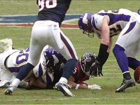 Video - Minnesota Vikings recover Arian Foster fumble