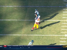 Video - Washington Redskins  WR Pierre Garcon 27-yard gain