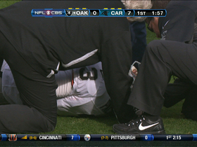 Video - Oakland Raiders QB Carson Palmer injured