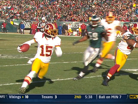 Video - Washington Redskins QB Robert Griffin III's 11-yard touchdown pass