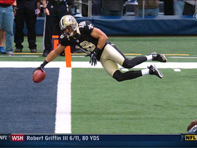 Video - New Orleans Saints QB Drew Brees 6-yard TD pass