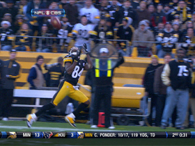 Video - Pittsburgh Steelers WR Antonio Brown 60-yard TD catch