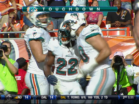 Video - Miami Dolphins RB Reggie Bush 1-yard TD run