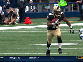 Video - New Orleans Saints RB Darren Sproles 44-yard catch
