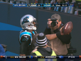Video - Carolina Panthers QB Cam Newton 3-yard touchdown run