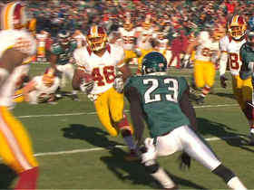 Video - Washington Redskins RB Alfred Morris 10-yard touchdown run