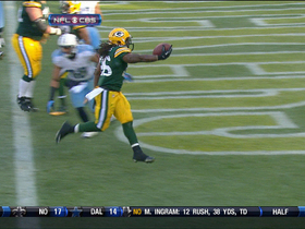 Video - Green Bay Packers RB DuJuan Harris 7-yard TD run