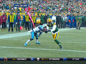 Video - Green Bay Packers WR Greg Jennings 1-yard TD reception