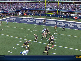 Video - New Orleans Saints QB Drew Brees 5-yard TD pass to running back Pierre Thomas