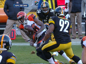 Video - AJ Green fumble recovered by Steelers