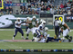 Watch: McElroy sack fumble