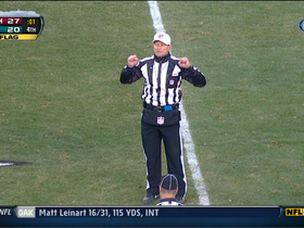 Video - Officials announce Washington Redskins-Philadelphia Eagles game is over