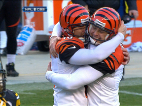 Video - Cincinnati Bengals safety Reggie Nelson pick sets up game-winning sequence for Bengals