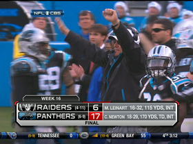 Video - Oakland Raiders vs. Carolina Panthers highlights