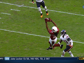 Video - Arizona Cardinals WR Larry Fitzgerald circus catch