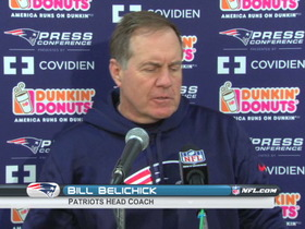 Video - Patriots postgame press conference