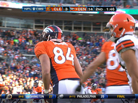 Video - Denver Broncos TE Jacob Tamme 36-yard catch