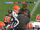 Watch: Weeden injured after sack