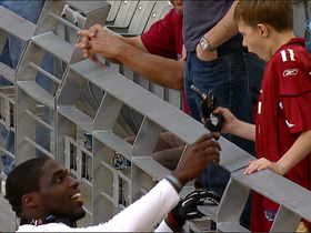 Video - Arizona Cardinals LB Sam Acho gives fan an early Christmas gift