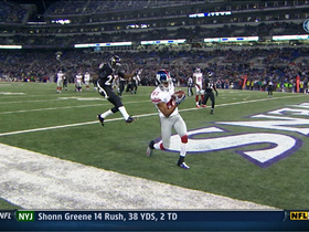 Video - New York Giants WR Domenik Hixon 13-yard touchdown catch