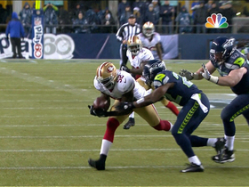 Video - San Francisco 49ers LB Patrick Willis picks off Wilson