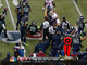 Watch: Seahawks recover fumble; Manningham injured