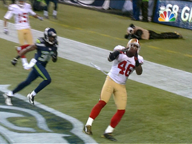 Video - San Francisco 49ers TE Delanie Walker 18-yard TD catch
