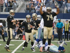 Video - GameDay: New Orleans Saints vs. Dallas Cowboys highlights