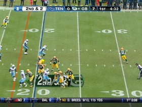 QB Rodgers to WR Cobb, 20-yd, pass, TD